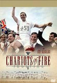 Chariots of fire. I remember the song more that I remember the movie. I know it's about runners and the Olympics. It's a tale of a Jewish runner who will mot run his race in the Olympics because it is on the Sabbath day. That much I do remember. 3 of 5