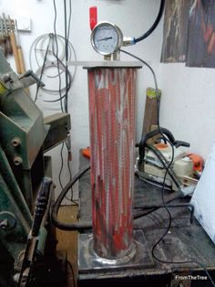 wood stabilizer machine
