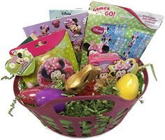Bjs restaurant brewhouse happy easter chocolate bunny gift minnie mouse easter gift basket tote with chocolate bunny want additional info click on negle Choice Image