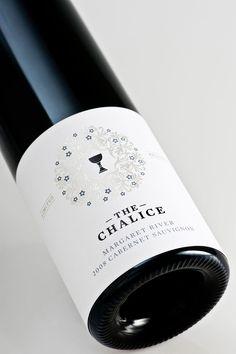 'The Chalice' Wine Labels for Chalice Bridge Estate. Brand development by Studio Lost & Found.