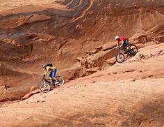 Your Summer 2013 Mountain Biking Bucket List: 1) Moab, Utah; 2) Fruita, Colo.; 3) Gooseberry Mesa, Utah; 4) Whistler, BC; 5) East Burke, Vt.
