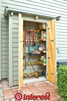 Terrific photo - go to our site for a lot more tips and hints! Greenhouse Shed, Garden Tool Shed, Garden Storage Shed, Indoor Greenhouse, Backyard Storage, Outdoor Storage Sheds, Outdoor Sheds, Outside Storage, Diy Shed Plans