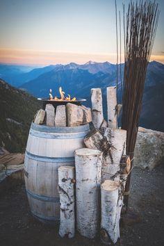 Rustic Mountain Wedding Decor - Kicking Horse Resort Wedding f8 photography Inc. - Calgary Bride