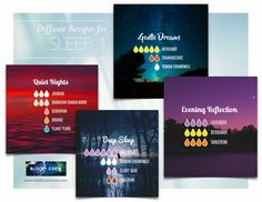 Diffuser Blends: SLEEP Roman Chamomile, Clear Your Mind, Diffuser Recipes, Clary Sage, Diffuser Blends, Young Living Essential Oils, Geraniums, The Cure, Bloom