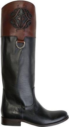 FRYE MELISSA LOGO BLACK BOOT   http://www.swell.com/FRYE-MELISSA-LOGO-BLACK-BOOT?cs=MU