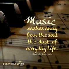 Listening to music is one of the many delights of the spirit and windows to our highest selves. May music do some holy housekeeping in our souls and render us radiant, relaxed and in harmony. Every Day Spirit: A Daybook of Wisdom, Joy and Peace. Inspirational Artwork, Short Inspirational Quotes, Best Quotes, Life Quotes, Motivational, Funny Quotes, Music Do, Soul Music, Music Lyrics