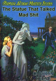 These 25 fake Nancy Drew book covers are great parodies of the classic detective series. Nancy Drew Books, Nancy Drew Games, Nancy Drew Mysteries, Nancy Drew Mystery Stories, Ladybird Books, Up Book, Little Golden Books, Book Title, Bedtime Stories