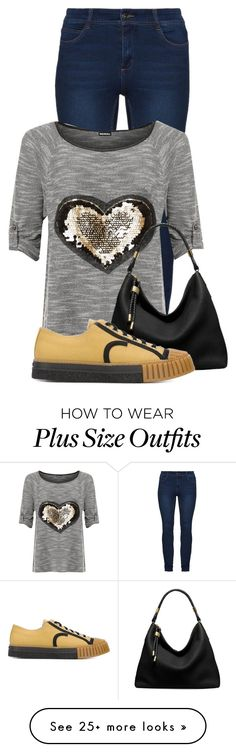 """Untitled #20334"" by nanette-253 on Polyvore featuring WearAll, Michael Kors and ADIEU"