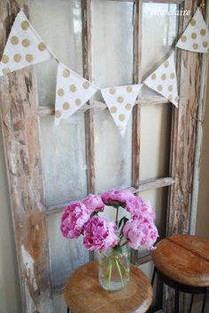 {Ella Claire}: Adorable Burlap Banners from Simply Burlap
