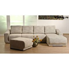 Coltar extensibil sufragerie Roxy Outdoor Sectional, Sectional Sofa, Couch, Outdoor Furniture, Outdoor Decor, Roxy, Modern, Home Decor, Modular Couch
