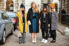#london #street #style #beanies