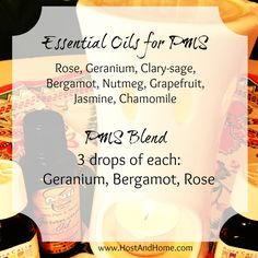 Want natural relief from PMS? When the PMS essential oil blend is used in a diffuser it changes your mood and everyone else's in the room! Goodbye irritated and depressed, hello lovely and sweet!