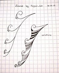 Zoose (Poppie_60) Tags: pen patterns drawings doodle tangle zentangle zendoodle zentanglepatterns ziazentangleinspiredart