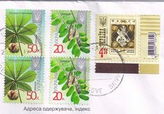 Ukraine Postage Stamps by Mailbox Happiness-Angee at Postcrossing, via Flickr
