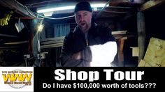 Do I have $100,000 worth of tools???  - Off the Cuff - Wacky Wood Works.