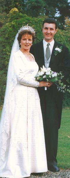 Crown Princess Margarita and Radu Duda, Royal Wedding Gowns, Royal Weddings, Wedding Dresses, Royal Crowns, Royal Jewels, Romanian Royal Family, Margarita, Royal Brides, Royal House