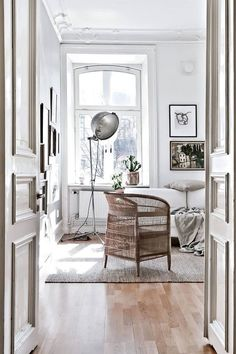 my scandinavian home: Serene and relaxed small space living in Gothenburg Small Space Living, Small Spaces, Living Spaces, Living Room, Living Area, Interior Exterior, Interior Architecture, Interior Design, Interior Styling