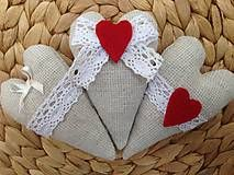 Dekorácie - Srdiečka levanduľové - 5377867_