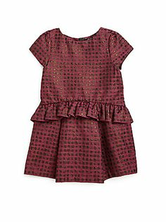 Lili Gaufrette Toddler & Little Girl's Sparkle Dress