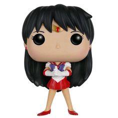 Statuetta decorativa Sailor Mars del brand Funko collezione Pop!.