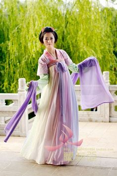 Ancient Chinese Tang Dynasty Hanfu Suit rental set traditional buy purchase on sale shop supplies supply sets equipemnt equipments Korean Traditional Dress, Traditional Fashion, Traditional Dresses, Traditional Chinese, Ethnic Fashion, Asian Fashion, Chinese Fashion, Japanese Fashion, Asian Style