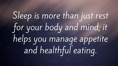 Tip #10: Suppress high-calorie and high-carb cravings by getting a good night's sleep