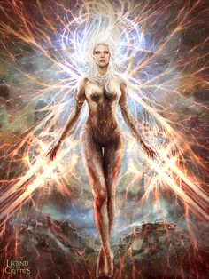 Inmortal Goddess of Victory (advanced version) by PabloFernandezArtwrk.deviantart.com on @DeviantArt