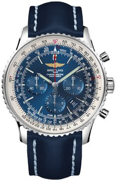 BRAND NEW Breitling Navitimer 01 Mens Blue Automatic Chronograph Watch - Lowest Price Guaranteed Authentic FREE Overnight Shipping Breitling Navitimer, Breitling Superocean Heritage, Breitling Watches, Swiss Luxury Watches, Swiss Army Watches, Fossil Watches, Cool Watches, Men's Watches, Wooden Watches For Men