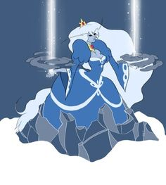 Ice queen adventure time
