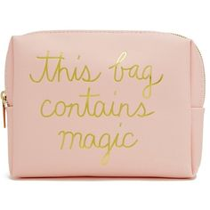 Forever21 Magic Makeup Bag (€6,49) ❤ liked on Polyvore featuring beauty products, beauty accessories, bags & cases, bags, makeup purse, travel toiletry case, forever 21, travel bag and toiletry kits