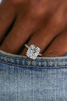 12 Engagement Ring Designers You Must See ❤️ engagement ring designers emerald cut pave band ❤️ See more: http://www.weddingforward.com/engagement-ring-designers/ #weddingforward #wedding #bride #engagementrings