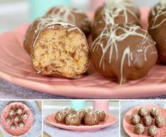 Tim Tam Cheesecake Balls 3 Ingredients