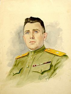 Konstantin Kuzginov. Self portrait.