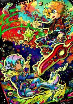 Xenoblade Chronicles - Shulk and Alvis Xenoblade X, Monolith Soft, B The Beginning, Xenoblade Chronicles Wii, Xeno Series, Nintendo World, Best Rpg, Just Video, Kid Icarus