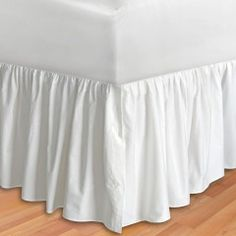 Dena Home Lily White Bedskirt Collection