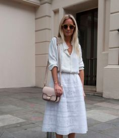 35 Cute All White Outfits