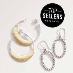 Great earrings from the Silpada Holiday Collection!
