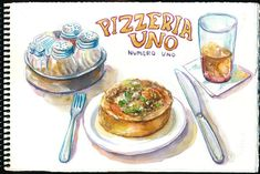 Pizzeria Unos pizza in Chicago