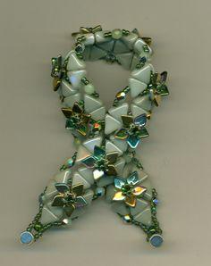 Valentine Bracelet pattern by Puca, color arrangement by Marcie Lynne and bracelet made by Susanne Hanks