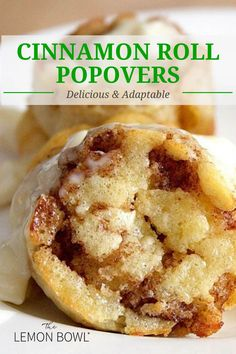 Kitchen Recipes, Cooking Recipes, Healthy Recipes, Popover Recipe, Popover Pan, Healthy Breakfast Options, Healthy Brunch, Lemon Bowl, Photo Food