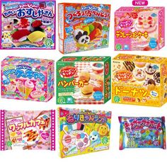 Kracie Popin Cookin 9 Item Bundle with Sushi, Hamburger, Bento, Donuts, Cake Shop and More Kracie,http://www.amazon.com/dp/B00EZP7OLO/ref=cm_sw_r_pi_dp_1sNOsb12FB5ZKN4P