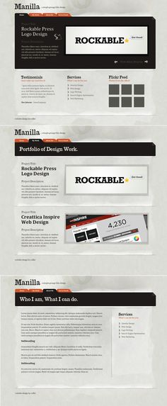 Photoshop a Paper Texture from Scratch then Create a Grungy Web Design with it! - Tuts+ Design & Illustration Tutorial