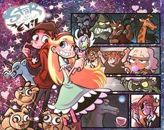 Star vs The Forces of Evil Starco, Disney And More, Disney Love, Walt Disney, Doodle Box, Jackie Lynn Thomas, Most Popular Cartoons, Star Y Marco, Bird Mom