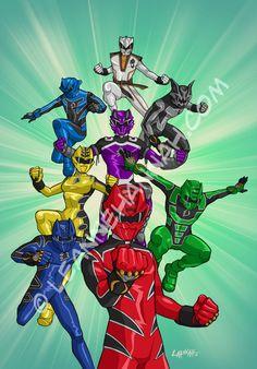 Power Rangers Jungle Fury by stratosmacca.deviantart.com on @deviantART