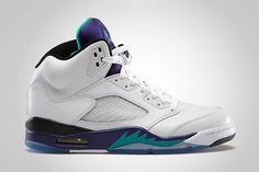 Image of Air Jordan 5 Retro Grape