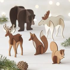 Festive animals + holiday decor = cuteness overload