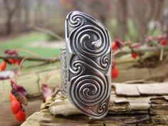 Celtic ShieldRing by soulharborjewelry on Etsy, $135.00