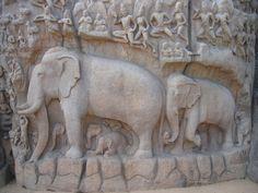 mahabalipuram felsrelief