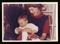 Sylvia Plath and her son Nicholas, December 1962.