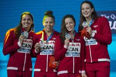 CBC Sports announced on Thursday that it will become the exclusive broadcaster of the world aquatics body FINA for the next four years.The coverage will kick off on July 15 with the FINA world championships in Budapest, Hungary this summer where. Windsor, Olympic Sports, Summer Olympics, World Championship, Swimmers, Kylie, Canada, Swimming, Sunday